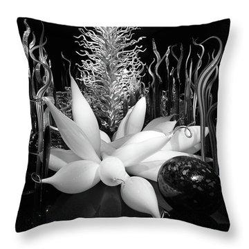 Glass Sculpture Throw Pillow