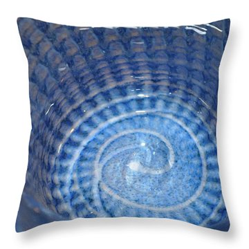 Glassworks 3 Throw Pillow by Marty Koch