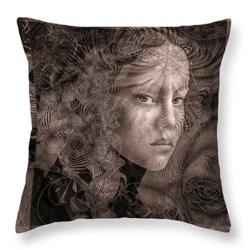 Glaze Throw Pillow