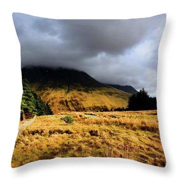 Glen Brittle Throw Pillow