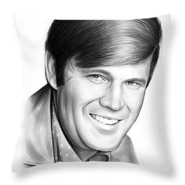 Glen Campbell Throw Pillow
