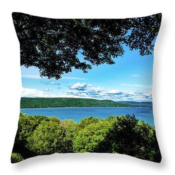 Glen Lake Throw Pillow