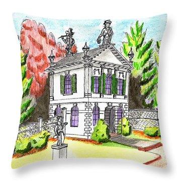 Glen Magna Farms- Derby House 2 Throw Pillow