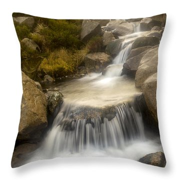 Glen River Nearer To The Source Throw Pillow