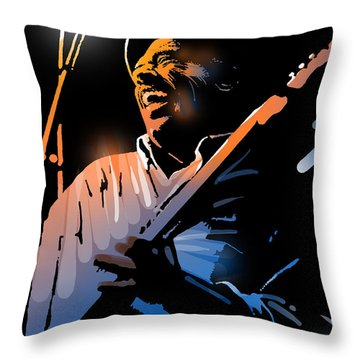 Glen Terry Throw Pillow by Paul Sachtleben