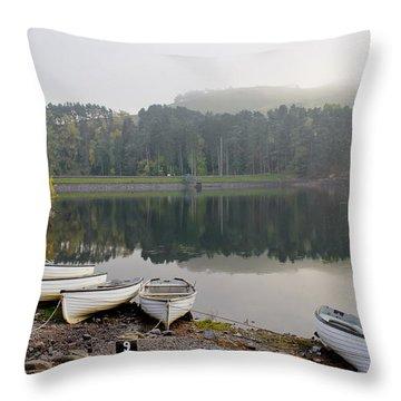 Glencorse Reflection. Throw Pillow