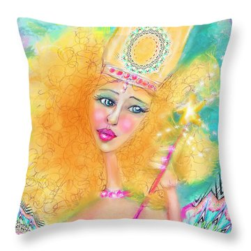Glenda Throw Pillow