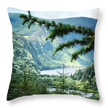 Glendalough Wicklow Throw Pillow