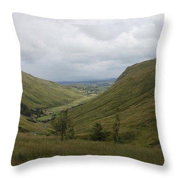 Glengesh Pass Throw Pillow