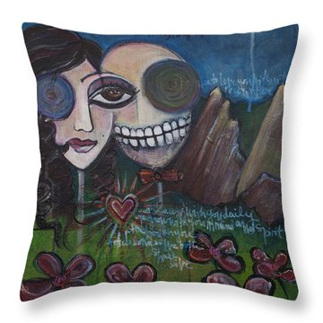 Glenn And Allison Throw Pillow