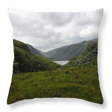 Glenveagh National Park Throw Pillow