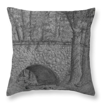 Glenview Bridge Throw Pillow