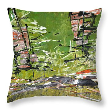 Glimpses Throw Pillow
