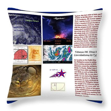 Glimpsing Divinity Throw Pillow