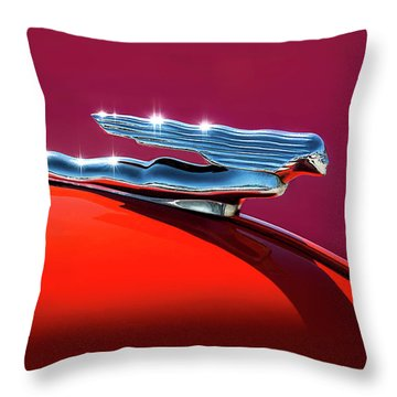 Glinted Beauty Throw Pillow