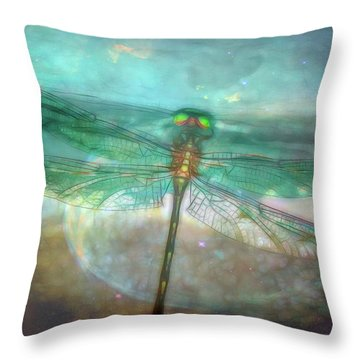 Glistening Throw Pillow