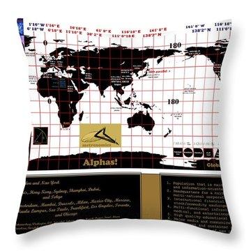 Globalocity Throw Pillow