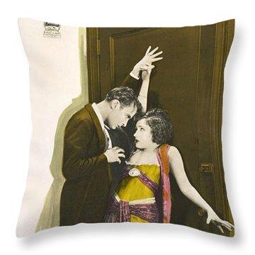 Gloria Swanson In Society Scandal 1924 Throw Pillow