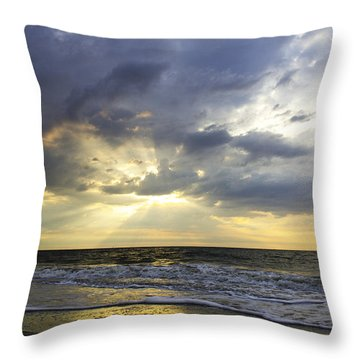 Glorious Beginning Throw Pillow