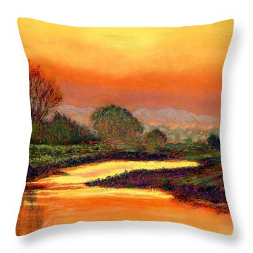 Glorious Foretaste Throw Pillow