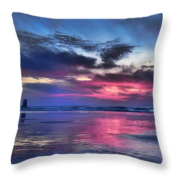 Glorious Glow Throw Pillow