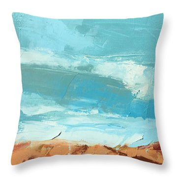 Glorious Journey Throw Pillow by Nathan Rhoads