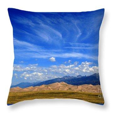 Throw Pillow featuring the photograph Glorious Morning by Paula Guttilla