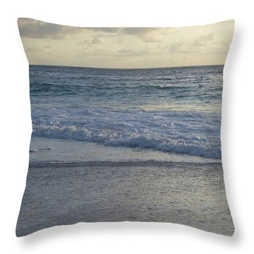 Glorious Sunrise Throw Pillow by Margaret Brooks