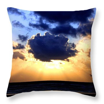 Throw Pillow featuring the photograph Glorious  by Will Borden