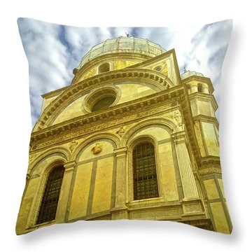 Throw Pillow featuring the photograph Glory by Anne Kotan
