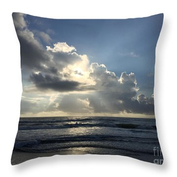 Throw Pillow featuring the photograph Glory Day by LeeAnn Kendall