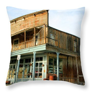 Glory Hole Route 66 Throw Pillow by Kristin Elmquist