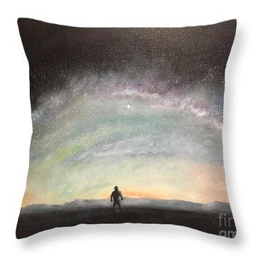 Glory Of God Throw Pillow