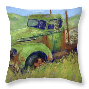 Glory Passed Throw Pillow