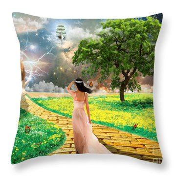 Glory Road Throw Pillow