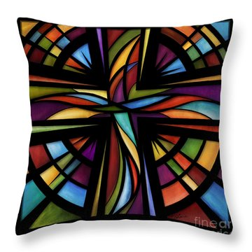 Glory To God Throw Pillow