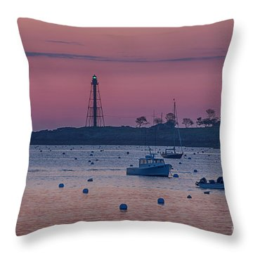 Glow Before Sunrise Throw Pillow