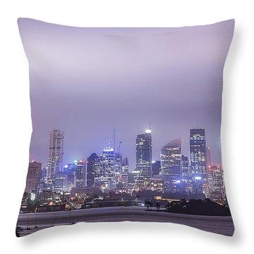 Glow Energy Throw Pillow