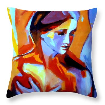 Glow From Within Throw Pillow