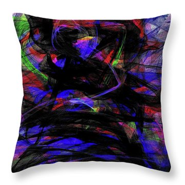 'glow Light' Throw Pillow
