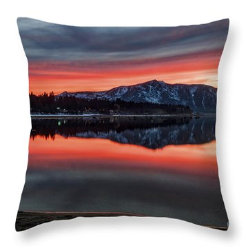 Glow Throw Pillow by Mitch Shindelbower