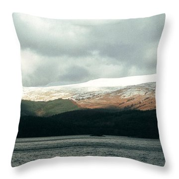Glowering Throw Pillow