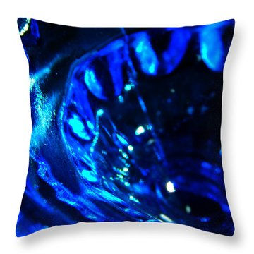 Glowing Glass Beauty Throw Pillow