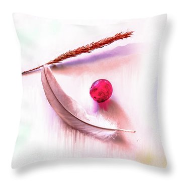 Glowing Grape #g5 Throw Pillow