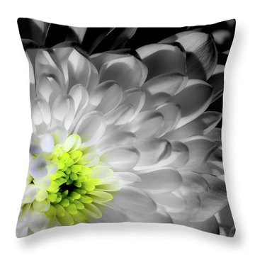 Glowing Heart Throw Pillow