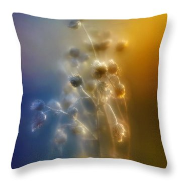 Glowing Love Throw Pillow
