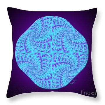 Glowing Moon Diamond Throw Pillow