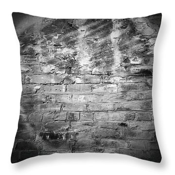 Orb On The Wall Throw Pillow by Nadalyn Larsen
