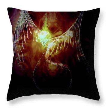 Glowingpixie Throw Pillow
