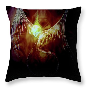 Glowingpixie Throw Pillow